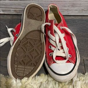 Converse Shoes - Converse Red Little Girls size 11